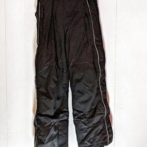 L.L. Bean snow pants kids size 10/12 black